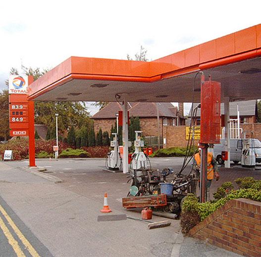 Former Petrol Filling Stations